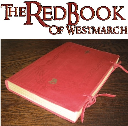 red book bilbo frodo sam write in hobbit lord of the rings
