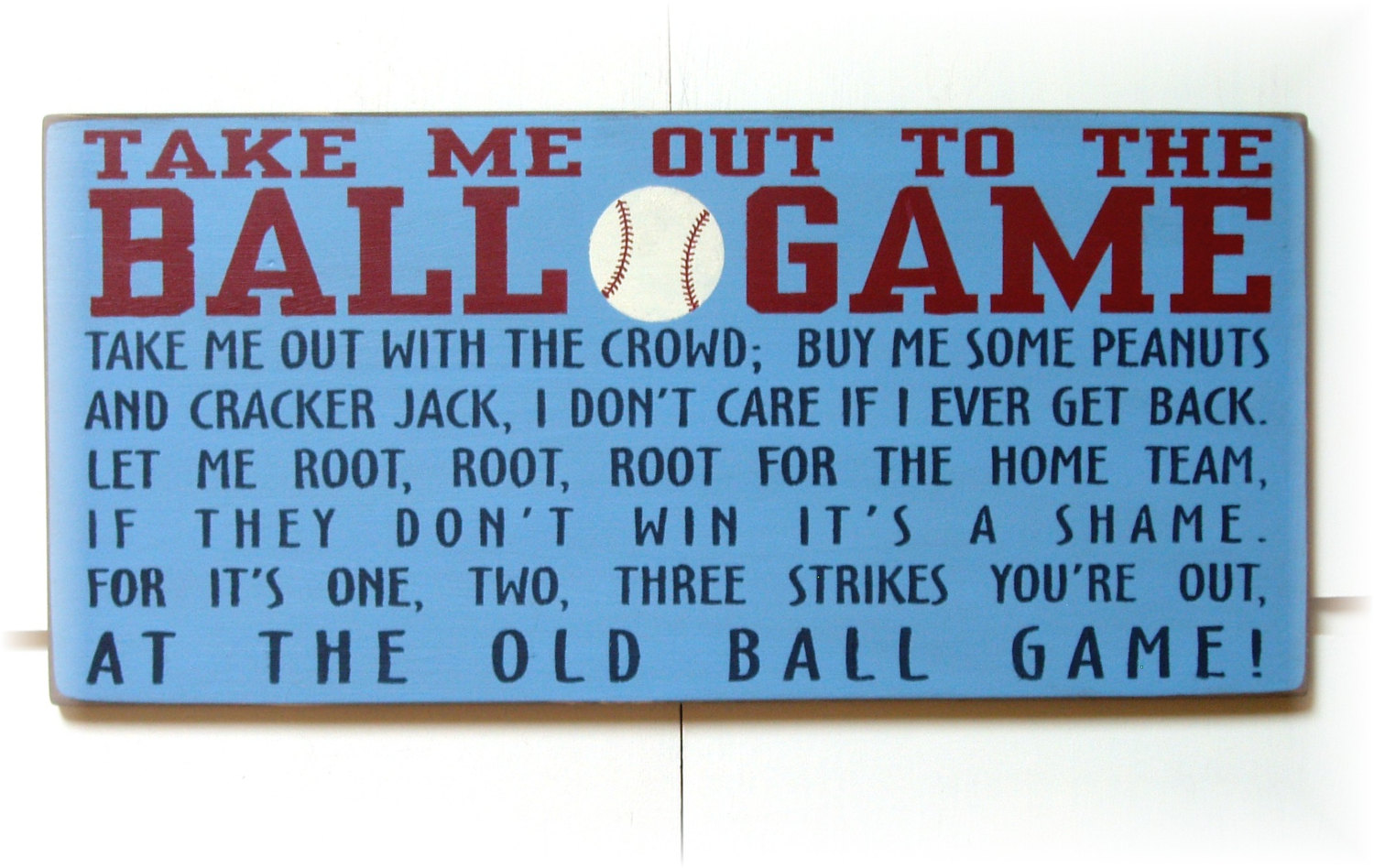 Take Me Out to the Ball Game History
