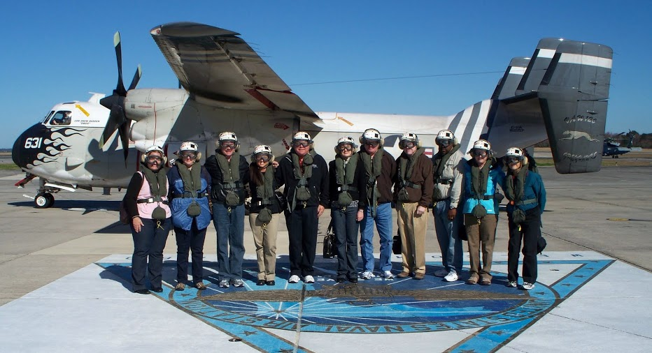 Trip of a Lifetime: Landing & Taking Off From a Nuclear Aircraft Carrier