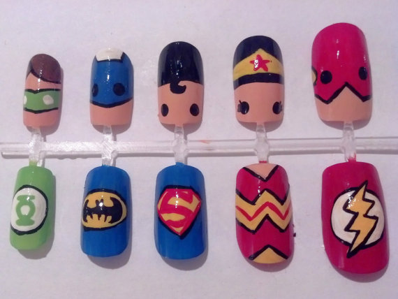 Avengers, Star Wars, DC Comics and more get their own press-on nails kits