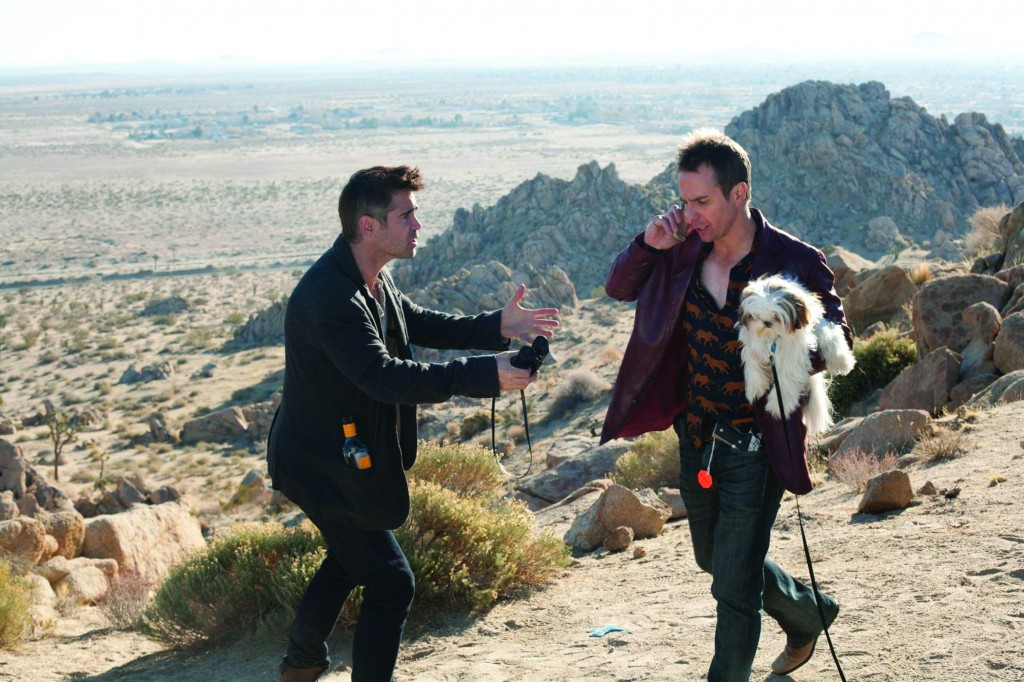 Movie Night:  Seven Psychopaths, End of Watch on DVD