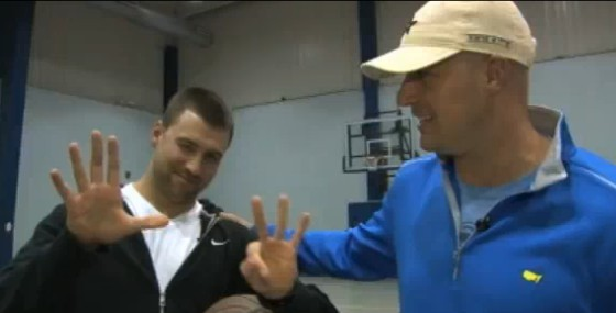 Hasselbeck Wins Number On Unconventional Bet