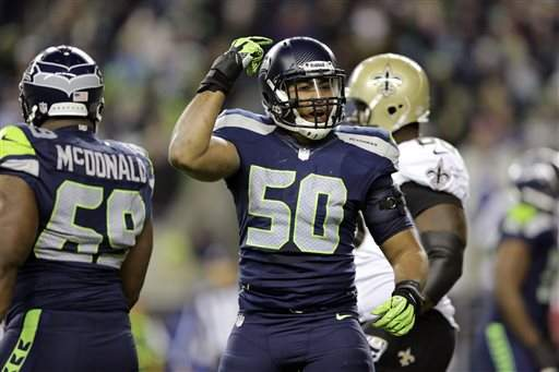 NFL, SEATTLE SEAHAWKS, NEW ORLEANS SAINTS
