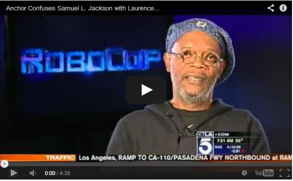WATCH: Samuel L. Jackson Loses It When He's Mistaken For Laurence Fishburne