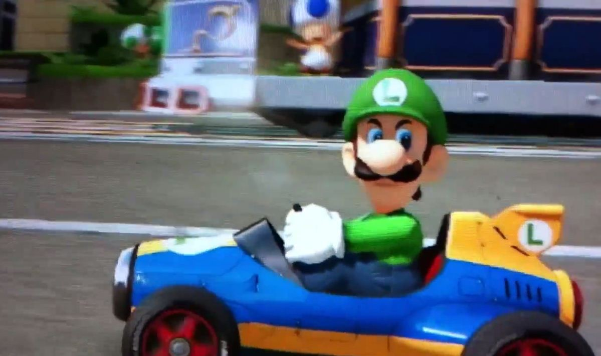 Luigi Death Stare is a new thing. And it's hilarious.