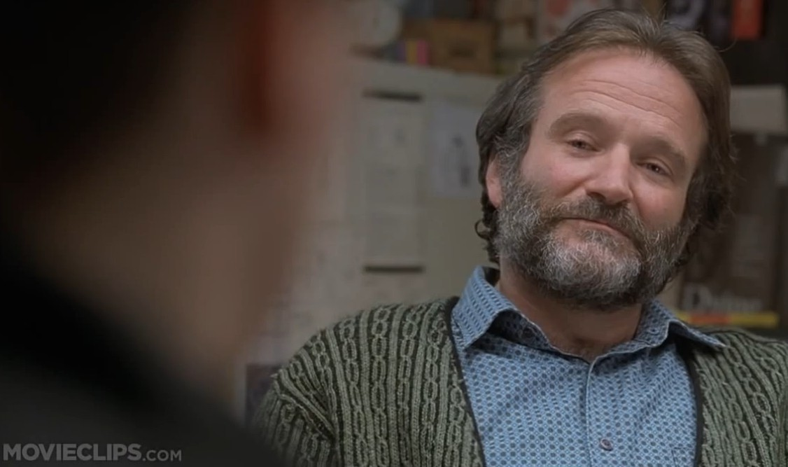 Robin Williams' Redsox Story from Good Will Hunting