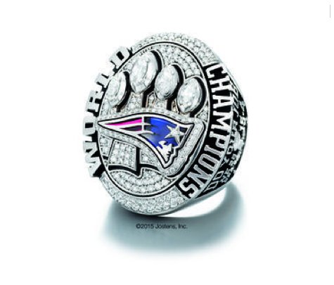 patriots 2015 super bowl ring
