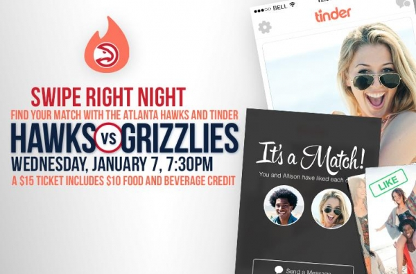 this-is-what-happens-when-the-atlanta-hawks-plays-matchmaker-to-fans-with-tinder-themed-swipe-right-night