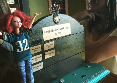GuysGirl Fantasy Football League Trophy