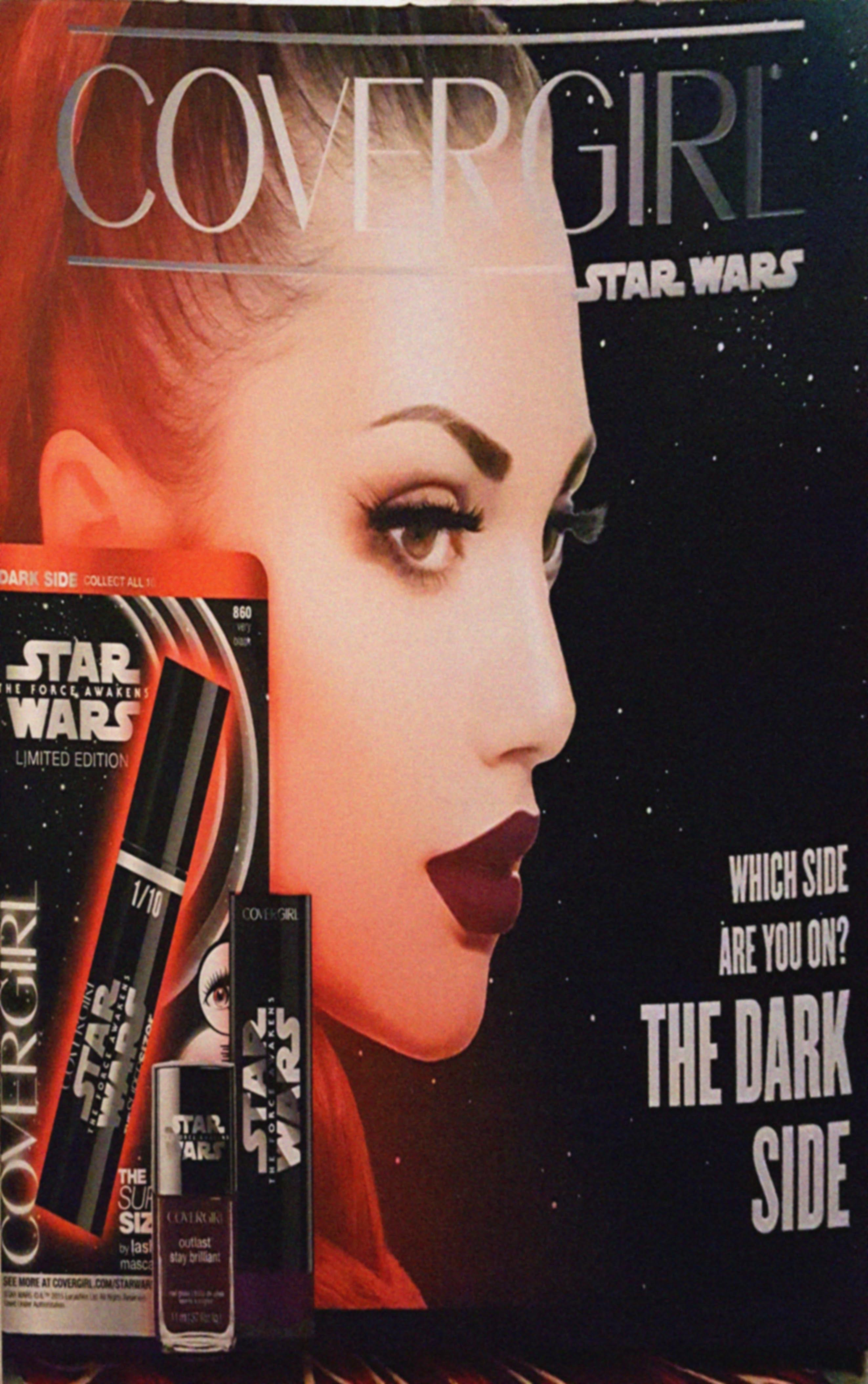 covergirl star wars makeup