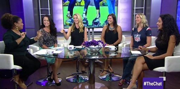 Appearance on 'The Chat'