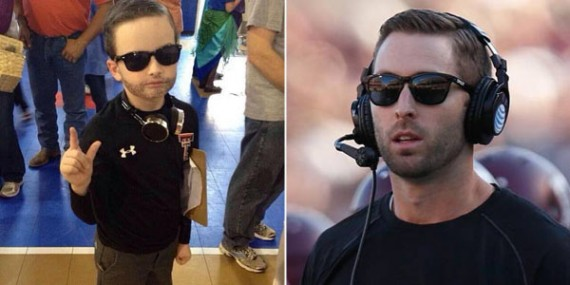 little kliff kingsbury costume