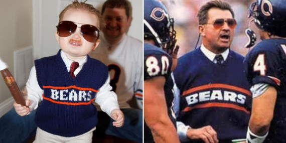 little mike ditka costume