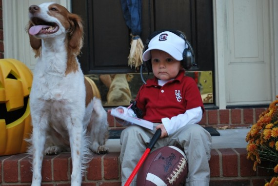 little steve spurrier costume