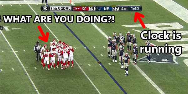 Should the NFL hire full-time clock managers?