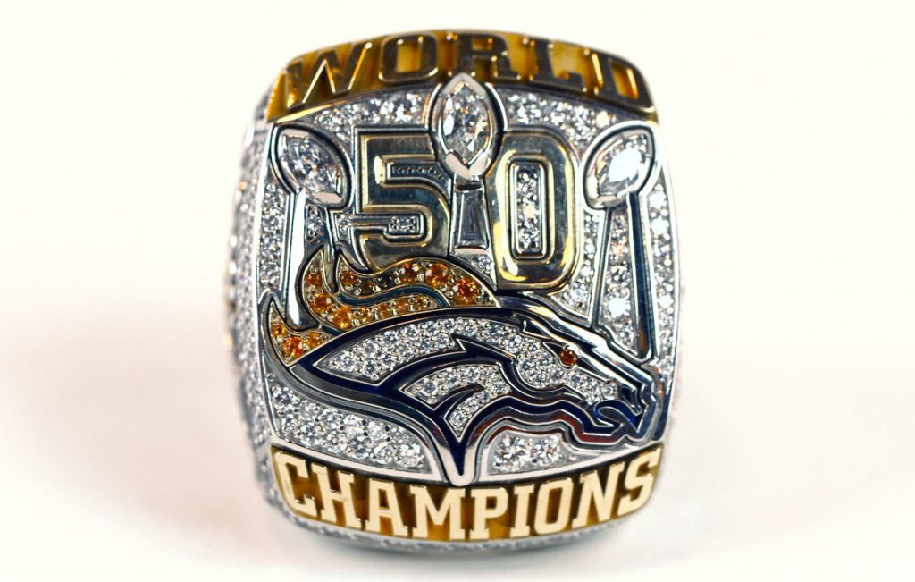 denver super bowl ring