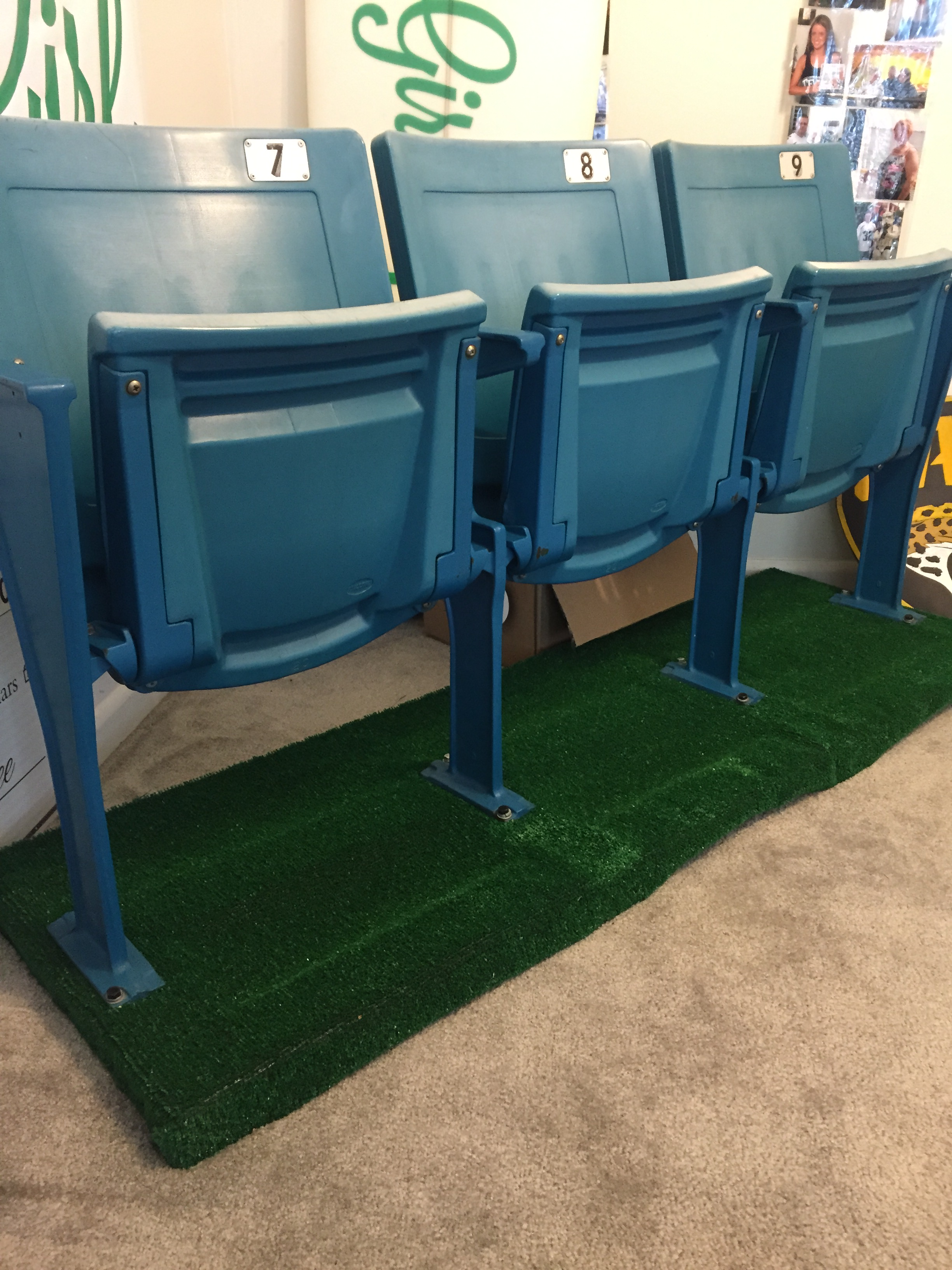 diy collectible stadium seats