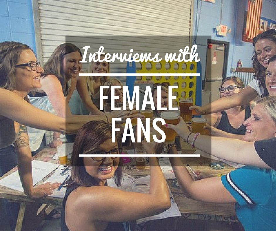 female fan interviews