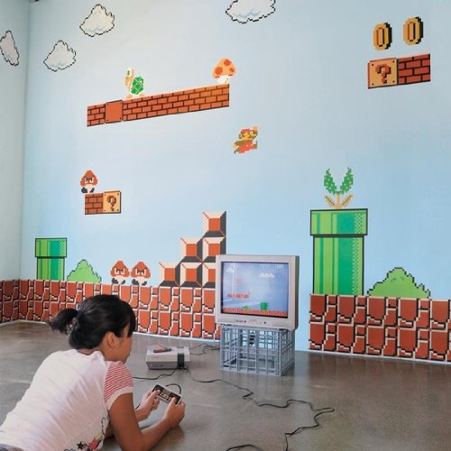 mario nintendo wall graphics
